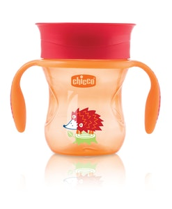 Chicco Perfect Cup W/Hndl 12+ Neutral 1pk 200ml
