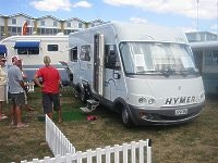 2001 Hymer for NZ$125,000
