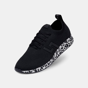 ROLLIE BOLT SNEAKER - Leopard/Black