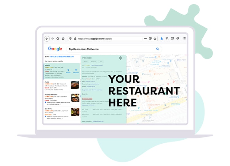 SEO and marketing for bars and restaurants