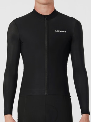 Soomom Pro Classic LS Thermal Jersey - Black