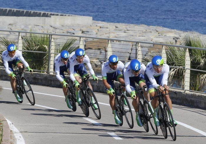 display OGE time trial