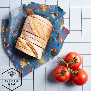 Honeybee Wraps - Kitchen Collection Pack - 4 pack