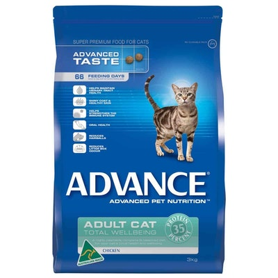 Advance  Total Wellbeing  Adult  Chicken  Dry Cat Food