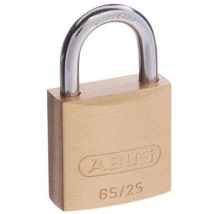 ABUS Brass Padlock 65/25 Keyed Alike