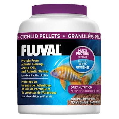 Fluval Sinking Pellet Fish Food for Medium Cichlids
