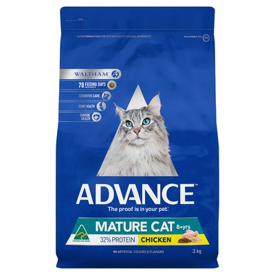 Advance Senior Chicken Dry Cat Food