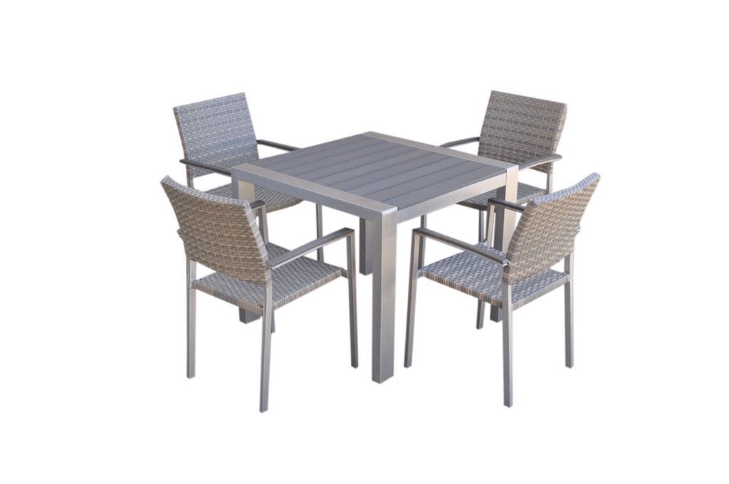 Marine 5 Piece Polywood Dining Setting Outdoor Dining Sets For Sale In Alexandria