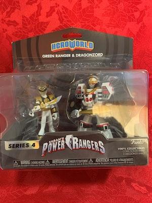 Power Rangers - Hero World White Ranger US Exclusive 2-pack