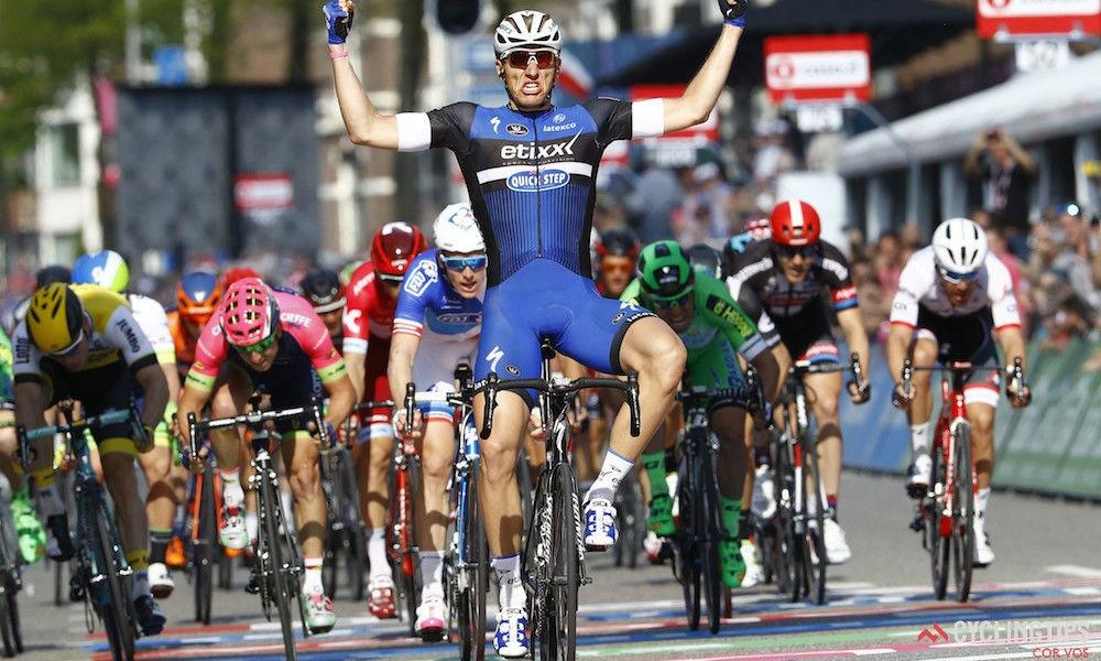 Kittel Blasts to Victory on Stage 2