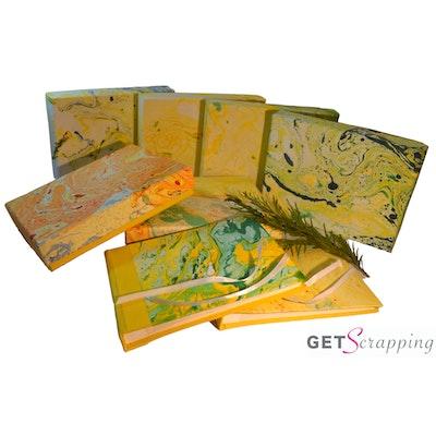 GETScrapping Luxury Handmade DIY Scrapbook Photo Album - Sunshine Yellow 2020