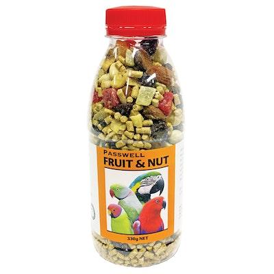 PASSWELL Pet & Aviary Birds Fruit & Nut Healthy Tasty Treats - 5 Sizes