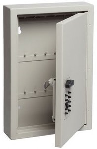Kidde Touchpoint key cabinet 30 key capacity in Clay colour