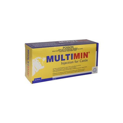 Virbac Multimin Trace Minerals Cattle Treatment - 2 Sizes