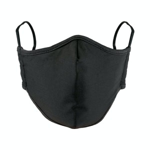 Reusable Adult Face Mask Black