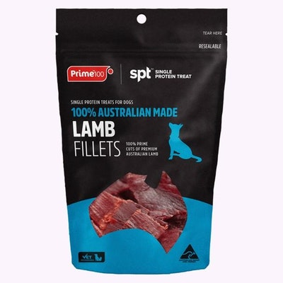 Prime 100 Lamb Fillets 100g