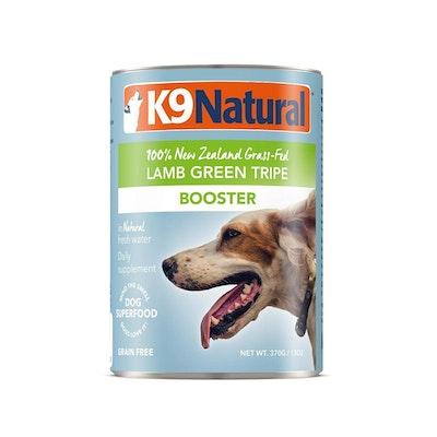 K9 Natural Lamb Green Tripe Wet Dog Food Supplement 370G (Booster)