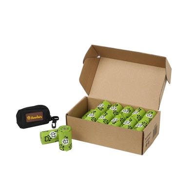 Charlie's Eco-Friendly Biodegradable Doogy Poop Bags and Pouch Dispenser - 480 Bags