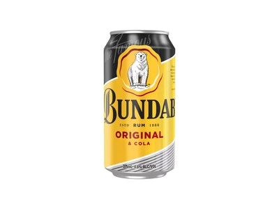 Bundaberg Original Rum & Cola Can 375mL