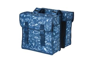 Basil Wanderlust Double Bag Indigo Blue 35L