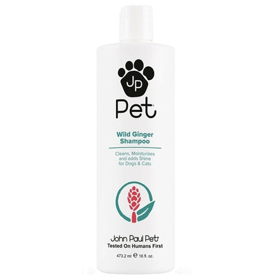 John Paul Pet Wild Ginger Dogs & Cats Grooming Shampoo 473ml