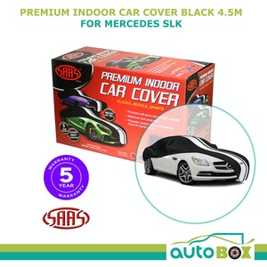 SAAS SHOW CAR COVER MEDIUM BLACK INDOOR for Classic E-TYPE MGB-GT BMW 2002 4.5m