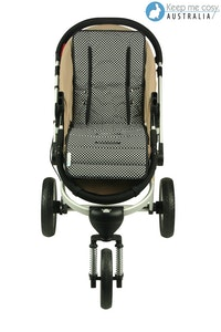 Keep Me Cosy™ Universal Pram Liner - Classic Ink Spot