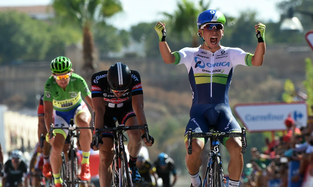 Caleb Ewan wins stage 5