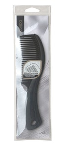 Basic Care Wet Dressing Comb Black 20cm