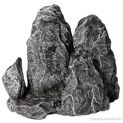 Aqua One Aquarium Ornament  Rock Formation Medium 20x8.5x16.5cm