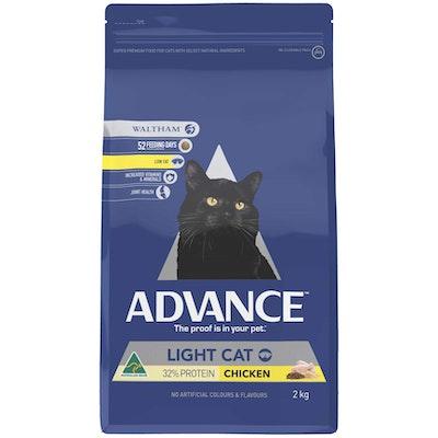 Advance Light Adult Chicken Dry Cat Food