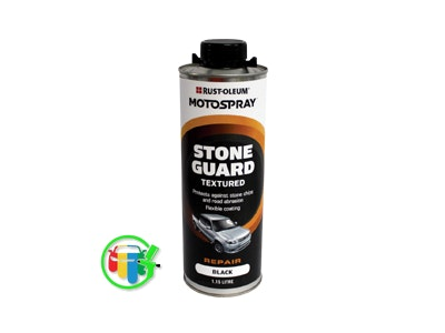 MOTOSPRAY Waterbase Stone Guard 1Lt - 2 Colours Available