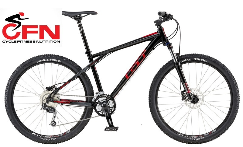 """GT AVALANCHE COMP BLACK AND RED, 27.5"""" MTB Bikes"""