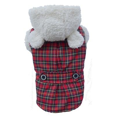 DoggyDolly SMALL DOG - Little Lamb Red Dog Jacket