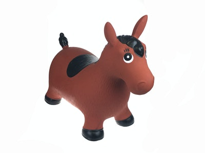 Kaper Kidz BOUNCY RIDER BROWN HORSE