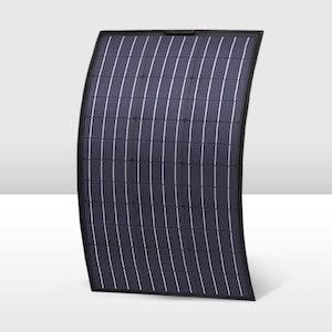 120W 12V Semi-Flexible Solar Panel