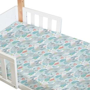 Babyhood Amani Bebe Standard Fitted Sheet