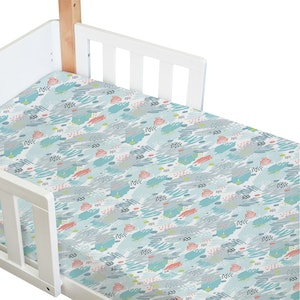Babyhood Amani Bebe Standard Fitted Sheet