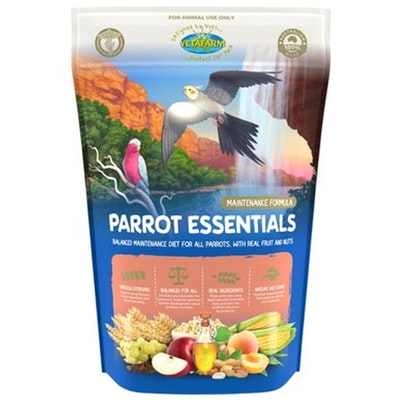 Vetafarm Parrot Essentials Extruded Pellet Bird Food - 3 Sizes