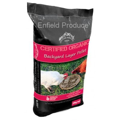 Country Heritage Organic Backyard Layer Vegetarian Pellet Poultry 20kg