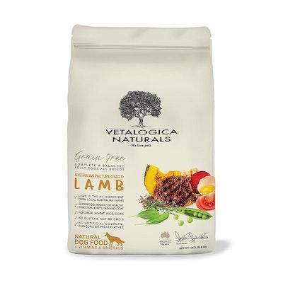 Vetalogica Naturals Grain Free Lamb Adult Dogs 13KG