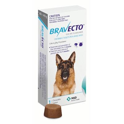 BRAVECTO Chew 20-40kg Dog 3 Month Pack