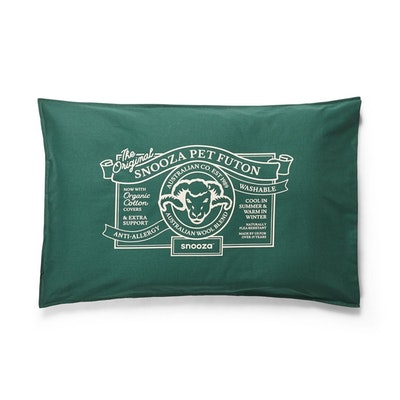 SNOOZA Organic Anti Allergy Dog Bed Futon Original Medium - 4 Colours
