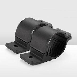 Pair Bullbar Mounting Brackets Clamp 66 - 71mm