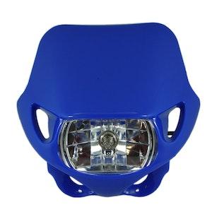 Halogen Motocross Headlight - Blue