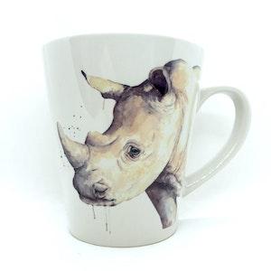 artbrush mug 'SAHARA SERIES Raymond Rhino'
