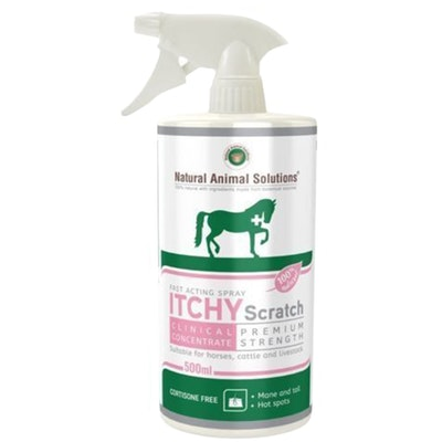 Natural Animal Solutions Nas Itchy Scratch Equine Solution 500ml