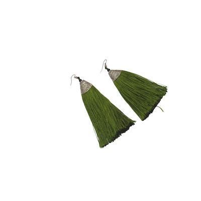 Continente Dorado Montezuma Tassels Green