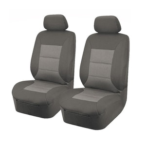 Universal Premium Front Seat Covers Size 30/35 | Grey