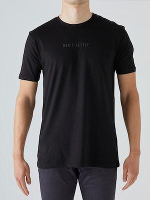 Givelo Black 100% Peruvian Cotton T-Shirt